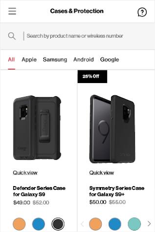My Verizon For Business Screenshot