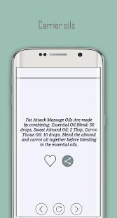 carrier oils - massage oils - náhled
