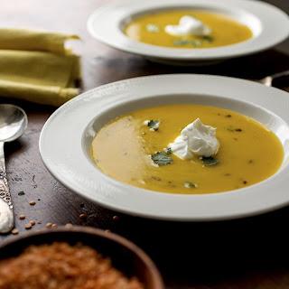 Lentils Thicken And Enrich A Squash Soup