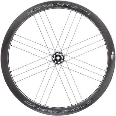 Campagnolo BORA WTO 45 Front Wheel - 700c, QR x 100mm, Center-Lock, 2-Way Fit, Dark Label alternate image 1