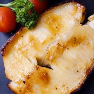 Baked Miso Marinated Cod