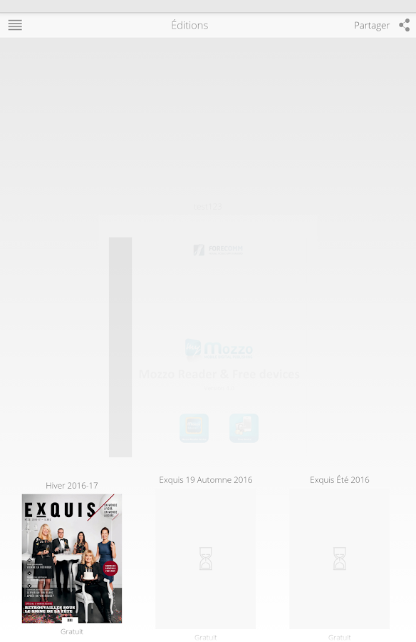 Exquis Magazine- screenshot