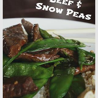 Beef & Snow Peas