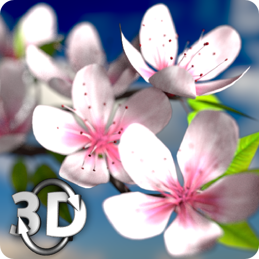 Spring Flowers 3D Parallax HD