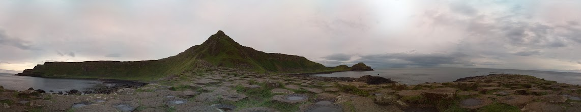 Photo: Giants Causeway. Taken at 5am with the Raspberry Pi camera board (81 separate photographs). Stitched with Hugin #RPPA