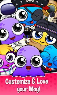 Moy 5 🐙 Virtual Pet Game- screenshot thumbnail