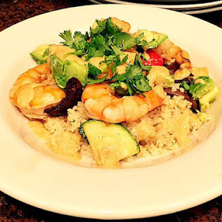 Thai Red Curry Roasted Shrimp and Vegetable Couscous