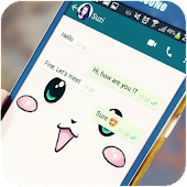 Cool Wallpapers for WhatsApp - Chat Background icon