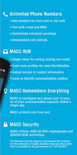 App MASC - Second Phone Number APK for Windows Phone