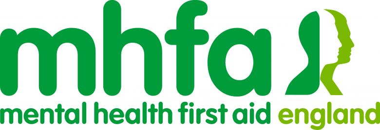 Logo for the Mental Health First Aid organisation.