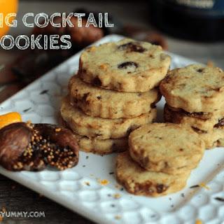 Fig Cocktail Cookies.