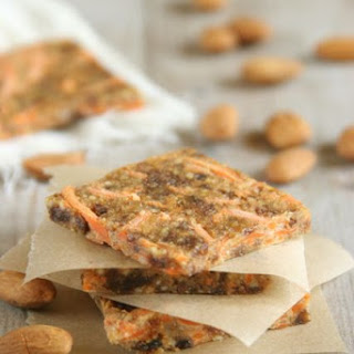 Carrot Cake Energy Squares.