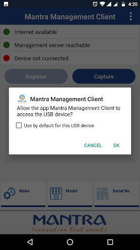 Mantra Management Client app (apk) free download for Android/PC/Windows screenshot