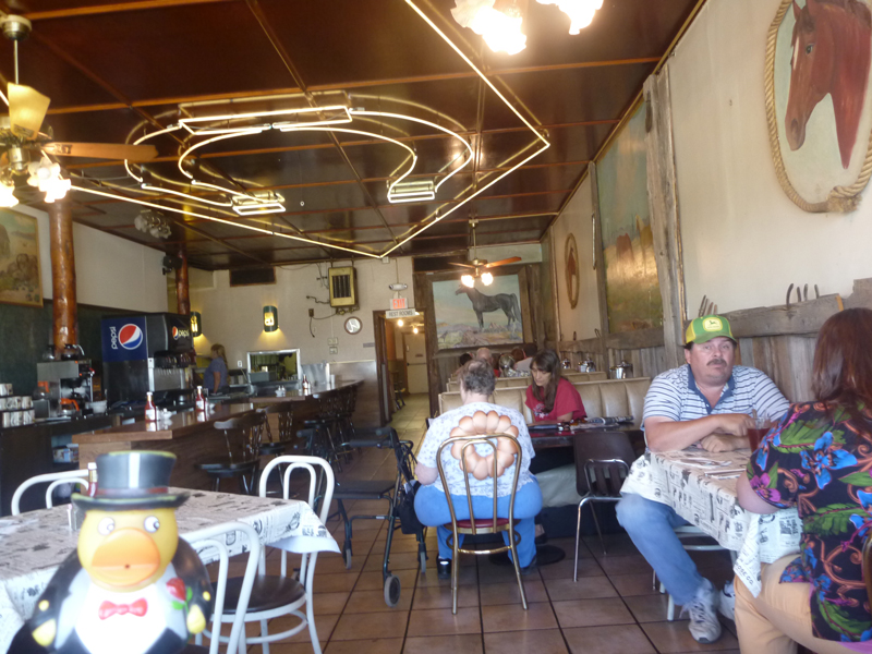 Photo: i started out with a hefty breakfast at the horse shoe cafe in benson