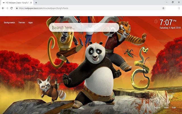 Kung Fu Panda HD Wallpaper