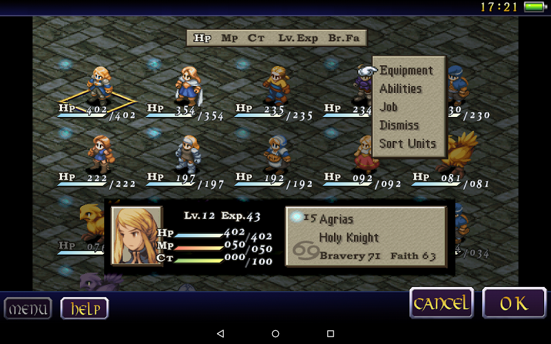 FINAL FANTASY TACTICS : WotL Screenshot 7