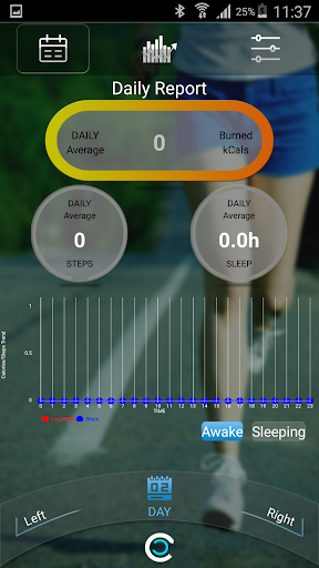 Smart WristbandApp Fitness screenshot 1