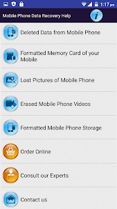 Mobile Phone Data Recovery HLP screenshot 0