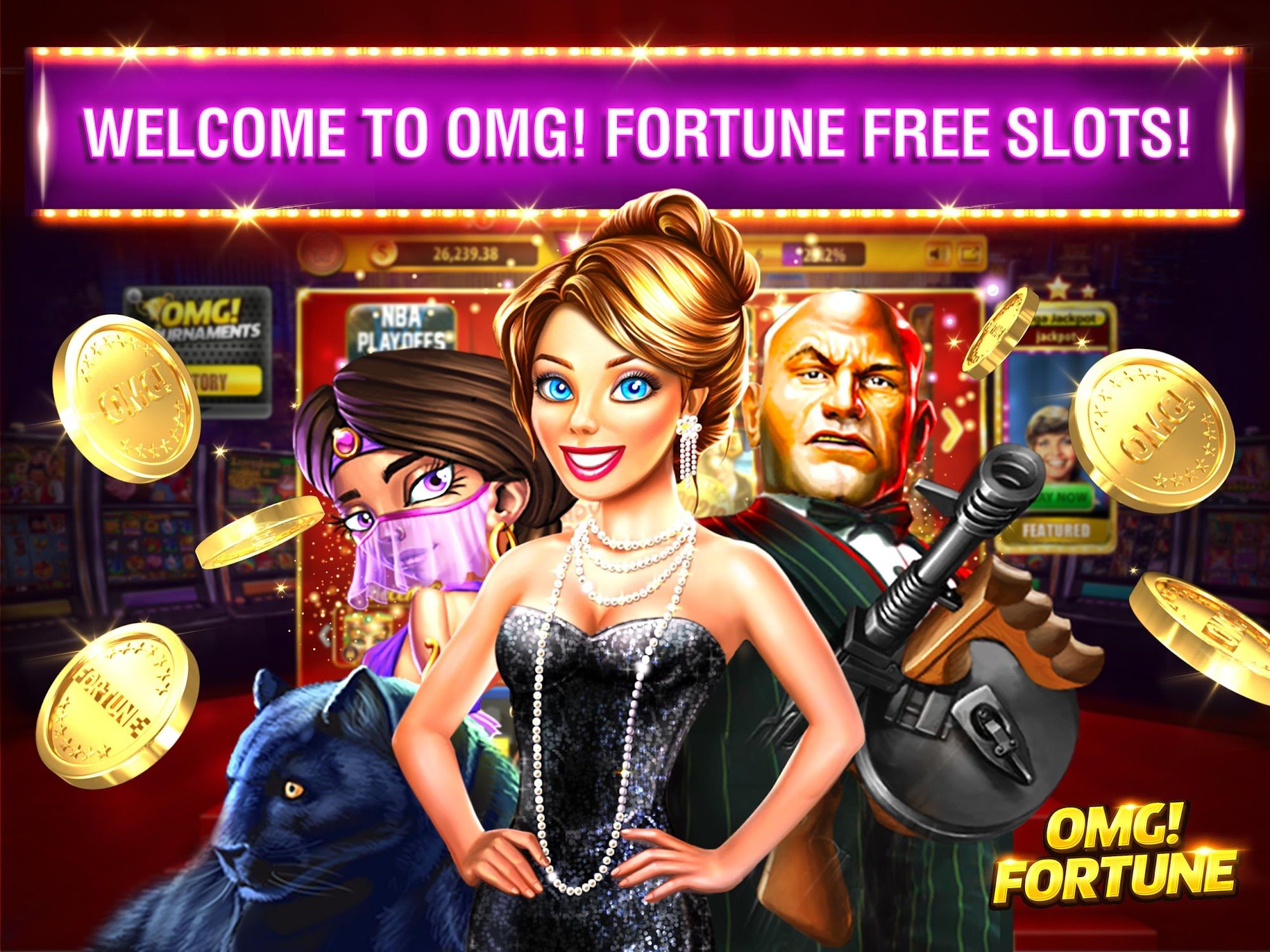 OMG! Fortune Free Slots Casino screenshot #6