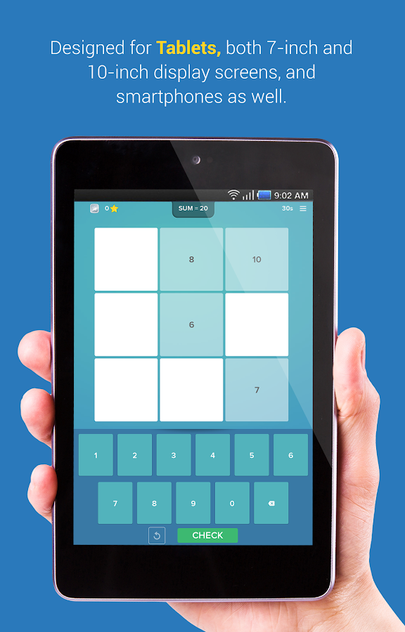 Magic Square – math for kids- screenshot