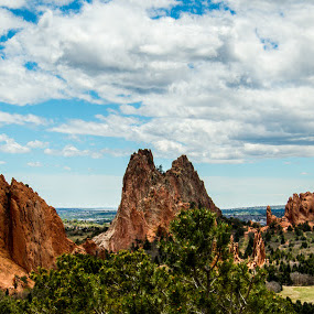 Valley of the Gods by Andrew Brinkman - Landscapes Caves & Formations ( nature, colorado, rock, valley, rock formation, garden of the gods )
