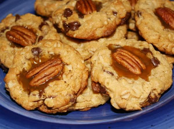 Oatmeal Chocolate Chip Cookie Topped With Love Recipe