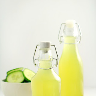 Cucumber Simple Syrup.