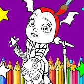 Tải Learn To Color Vampires (Vampirina Coloring games) APK