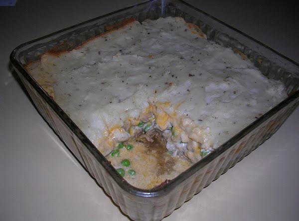 Cheater's Meatloaf Shepard's Pie Recipe
