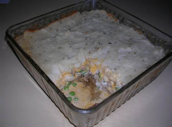 Cheater's Meatloaf Shepard's Pie Recipe