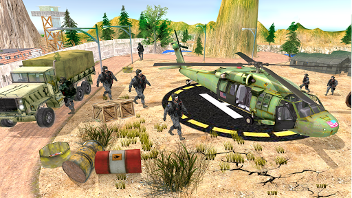 US Army Transport Drive - Army Games screenshots 9
