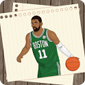 How to draw Professional US Basketball Players icon
