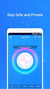 Super VPN - Free, Fast, Secure & Unlimited Proxy 1.2.4