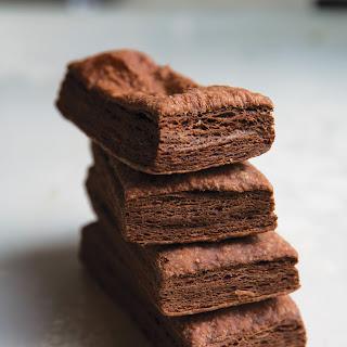 Chocolate Puff Pastry.