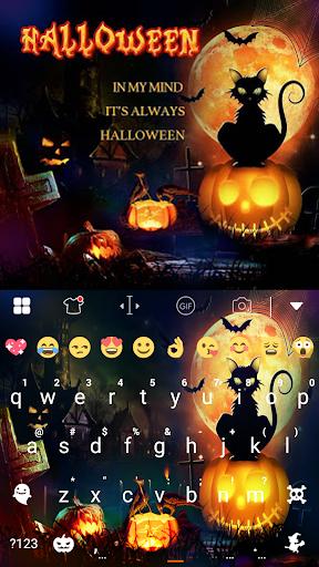 玩免費遊戲APP|下載Halloween Night Keyboard Theme app不用錢|硬是要APP