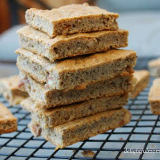 Chewy Almond Butter Chia Seed Bars.