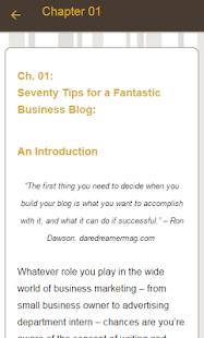 Blogging Course - náhled
