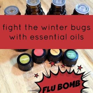 Essential Oil Flu Bomb Recipe