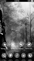 Gothic Black White theme HD - screenshot thumbnail 03