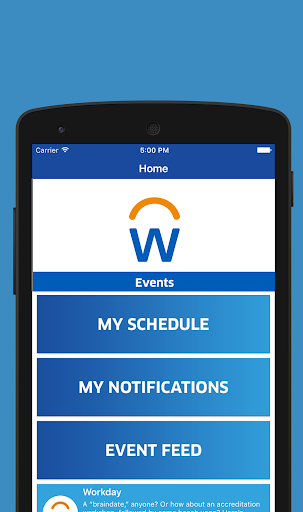 Workday Events by SpotMe (Google Play, United States) - SearchMan
