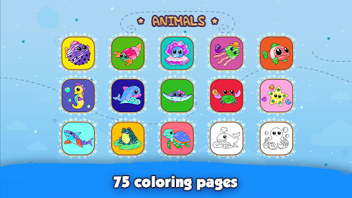 Kids Coloring Book: Drawing & Painting for toddler modavailable screenshots 8