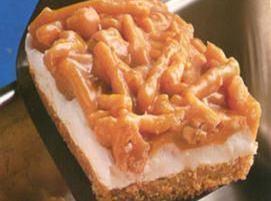 Cashew Peanut Butter Bars Recipe