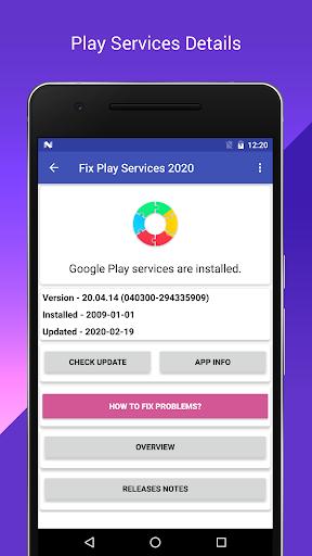 Fix Play - Service (Update & Info & Repair)  Wallpaper 1
