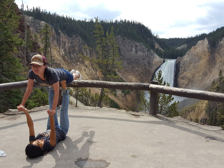 Yellowstone acroyoga