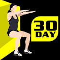 30 Day Wall Sit Challenge Free icon