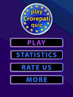 Screenshot of Crorepati Quiz Game