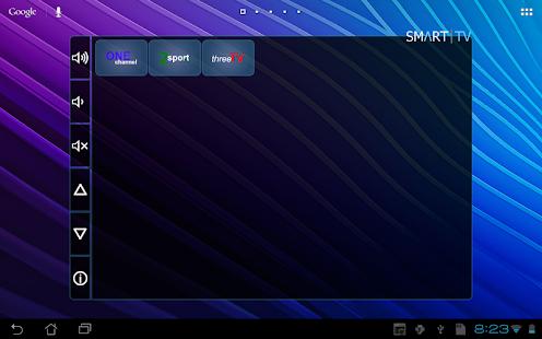 Smart TV Remote Tab - screenshot thumbnail