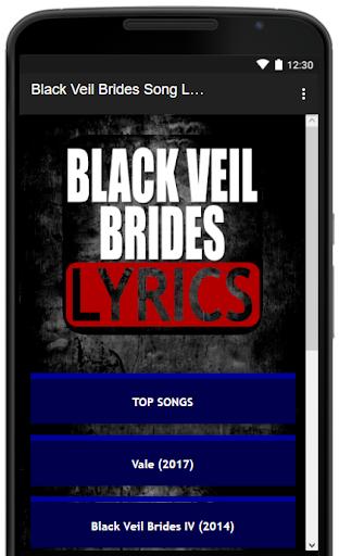 Black veil brides music