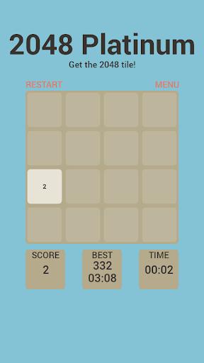 2048 Platinum Puzzle