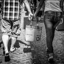 Photo: together...  #street #streettogs #streetphotography #shootthestreet #blackandwhite #bw #monochrome